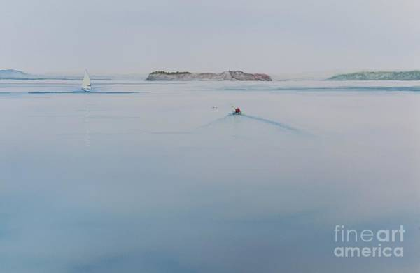 Port Townsend Painting - Like Glass by Lisa Debaets