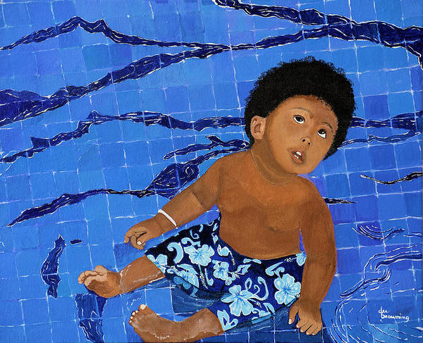 Painting - Lil Boy Blue by Dee Browning