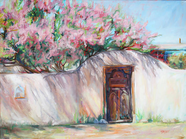 Adobe Walls Painting - Lilac Cascade by Marie Massey