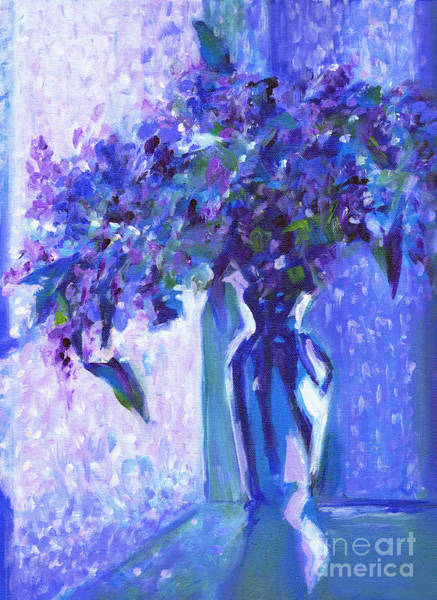 Painting - Lilac Rain  by Tanya Filichkin