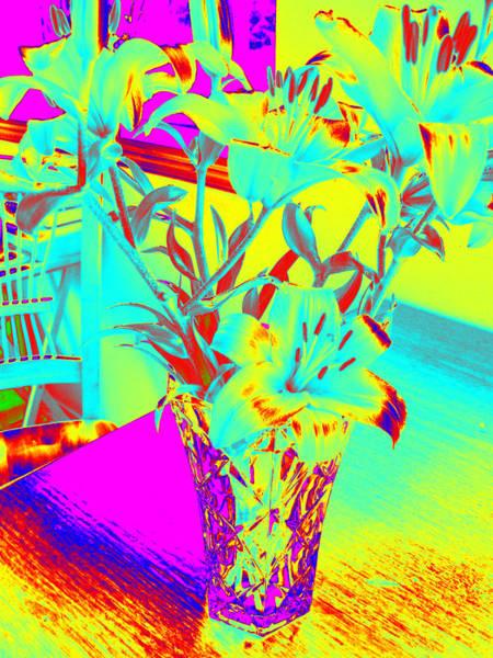 Photograph - Lilies #4 by Anne Westlund