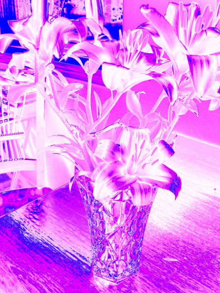 Photograph - Lilies #5 by Anne Westlund