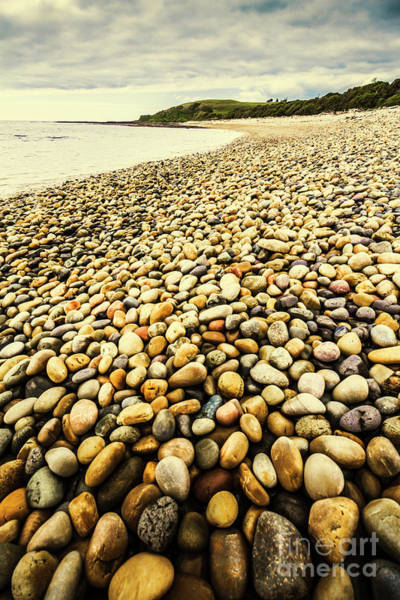 Stone Wall Wall Art - Photograph - Lillico Beach Tasmania by Jorgo Photography - Wall Art Gallery