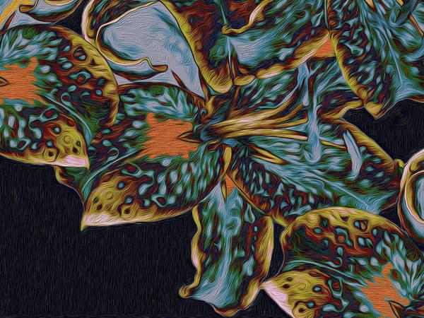 Digital Art - Lillies 22 by Lynda Lehmann