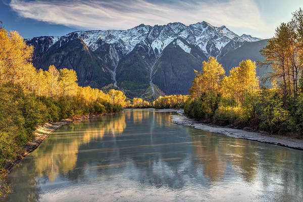 Photograph - Lillooet River Pemberton Hdr by Pierre Leclerc Photography