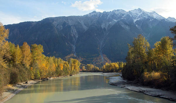 Photograph - Lillooet River by Pierre Leclerc Photography