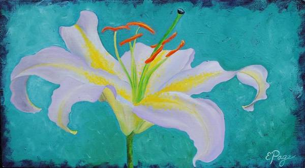 Painting - Lily by Emily Page