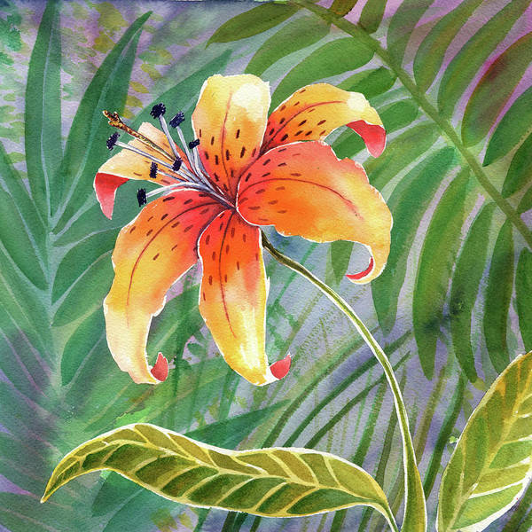 Wall Art - Painting - Lily by Kristy Lankford