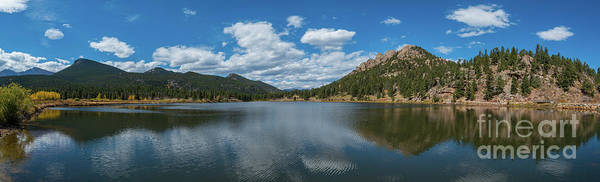 Lilly Photograph - Lily Lake Panorama  by Michael Ver Sprill