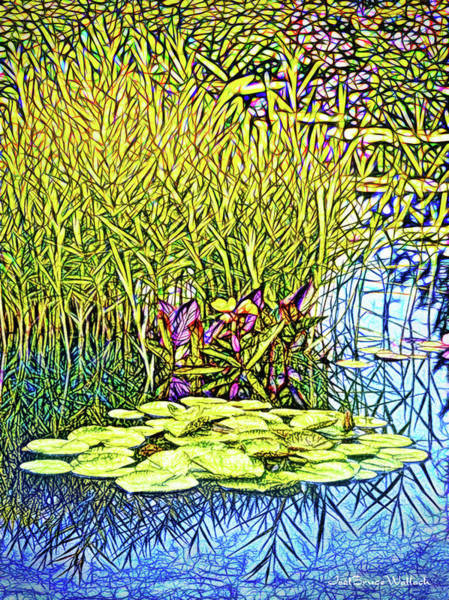 Digital Art - Lily Pad Dream by Joel Bruce Wallach