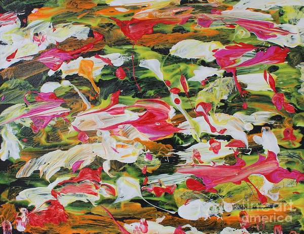 Diverted Wall Art - Painting - Lily Pads by Sarahleah Hankes