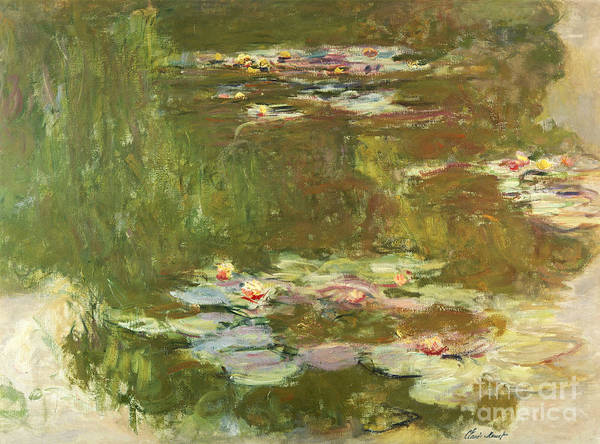 Painting - Lily Pond by Celestial Images