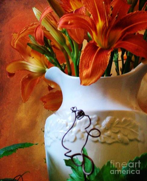Tigerlily Wall Art - Photograph - Lily The Tiger by Marsha Heiken
