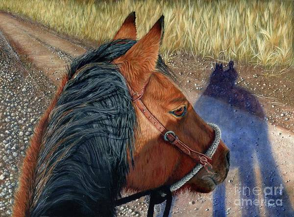 Painting - Lily's Perspective by Rosellen Westerhoff