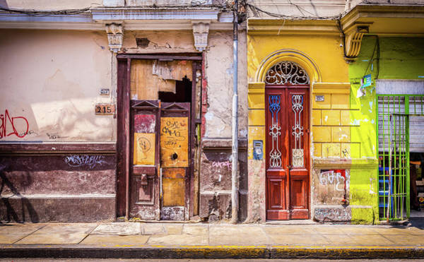 Photograph - Lima City Doors by Gary Gillette