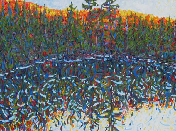 Wall Art - Painting - Limber  Lost In Algonquin by Phil Chadwick