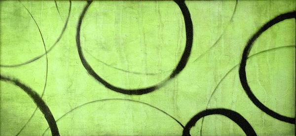 Wall Art - Painting - Lime Ensos by Julie Niemela