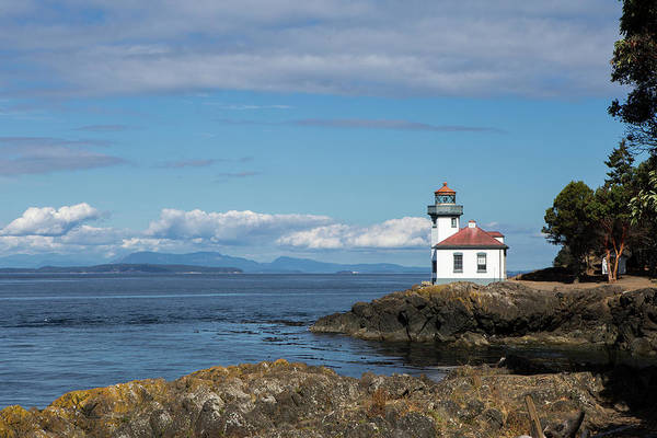 Wall Art - Photograph - Lime Kiln Lighthouse by Stephanie McDowell