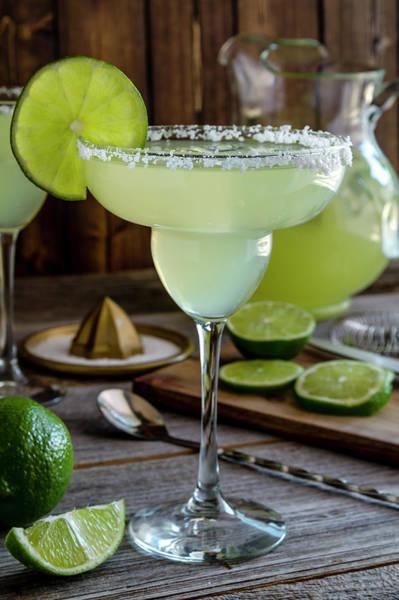 Photograph - Lime Margaritas by Teri Virbickis