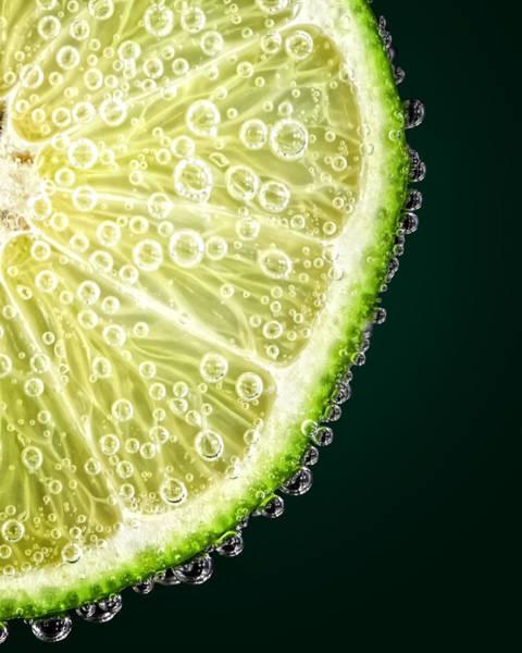 Lime Slice Art Print