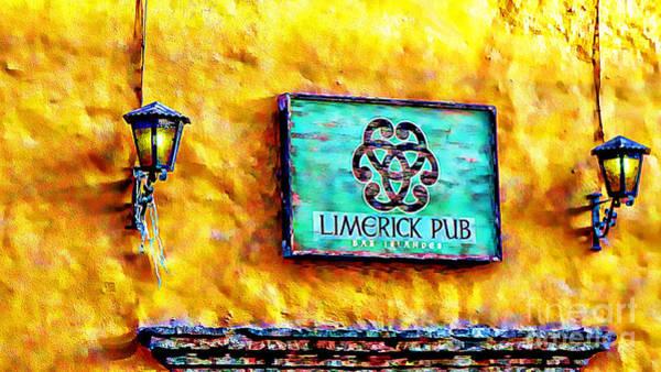 Limerick Pub Art Print