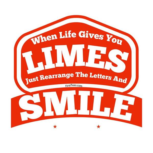 Powerlifting Digital Art - Limes And Smiles by FirstTees Motivational Artwork