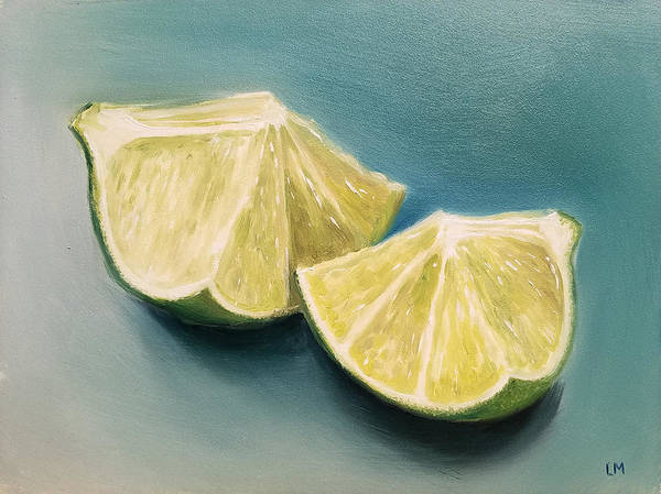 Painting - Limes by Linda Merchant