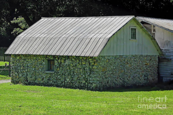 Photograph - Limestone Barn by D Hackett