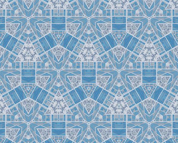 Digital Art - Limestone Blocks Mosaic by Judi Suni Hall
