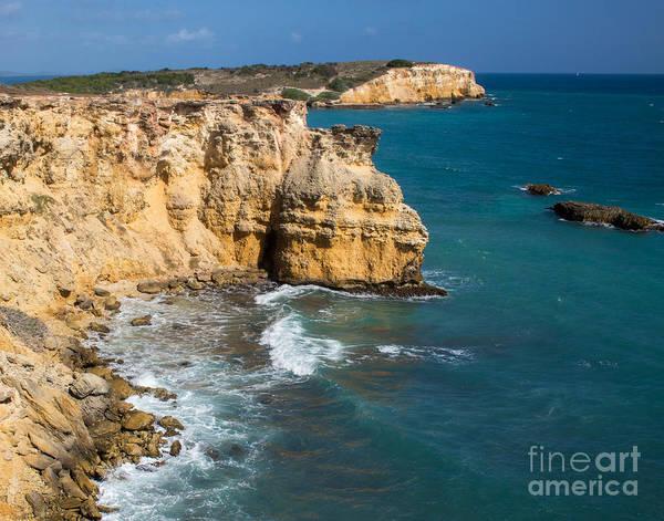 El Toro Photograph - Limestone Cliffs Of Cabo Rojo by Cheryl Del Toro
