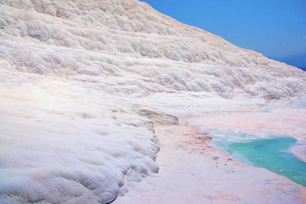 Photograph - Limestone Formations In Pamukkale by Sun Travels
