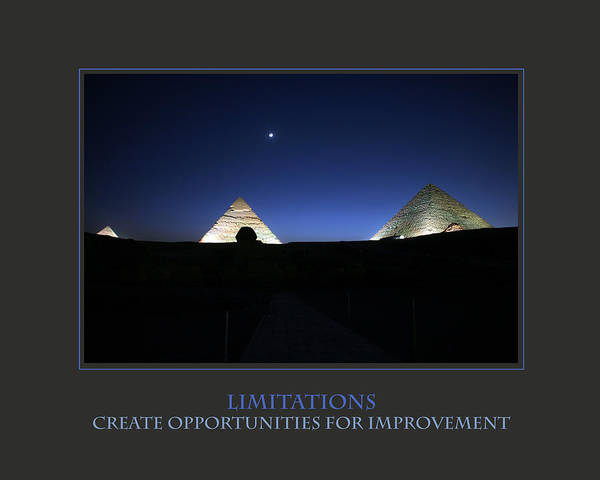 Photograph - Limitations Create Opportunities For Improvement by Donna Corless