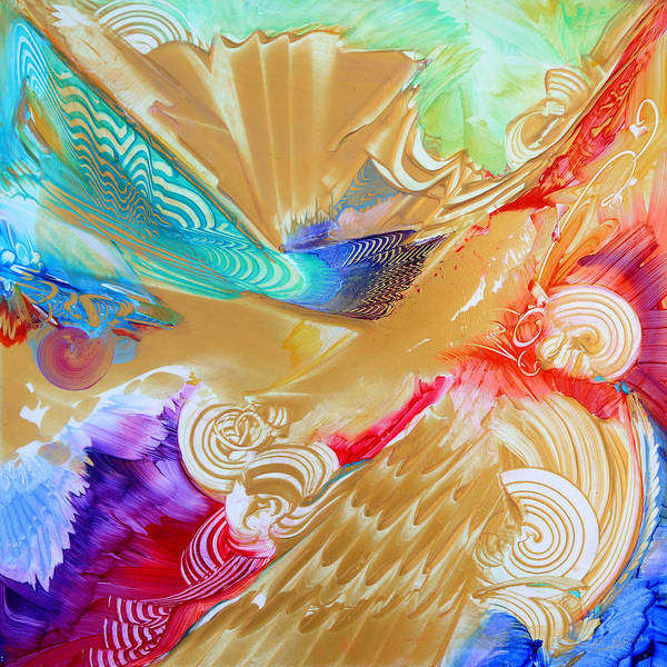 Wall Art - Painting - Limitless Lumiere-spectrum by Susan Card