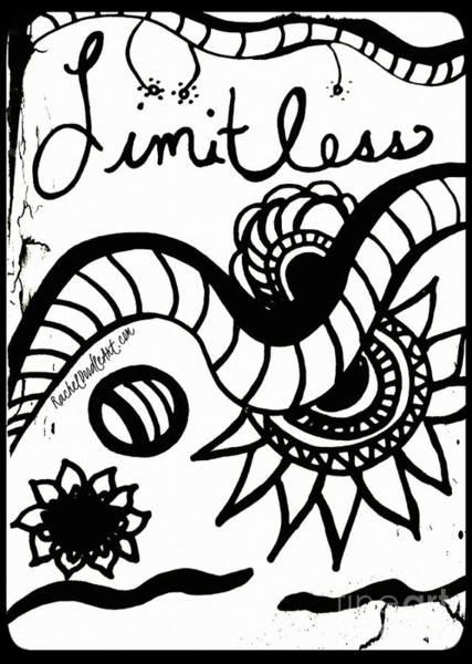 Drawing - Limitless by Rachel Maynard