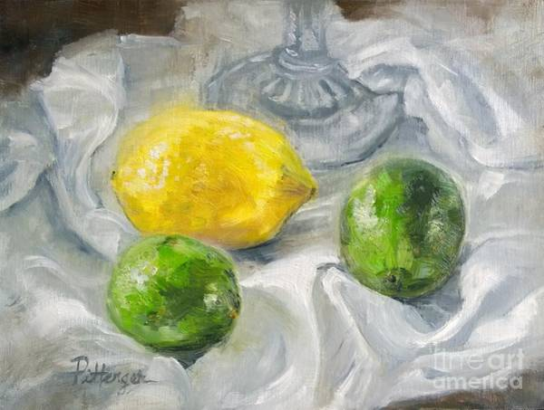 Painting - Limones by Lori Pittenger