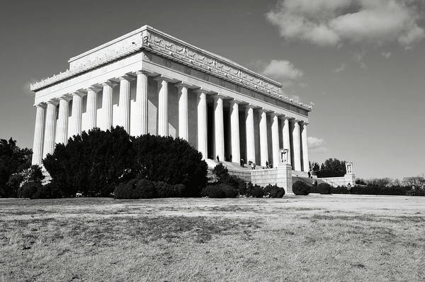Photograph - Lincoln Memorial In The Winter by Brandon Bourdages