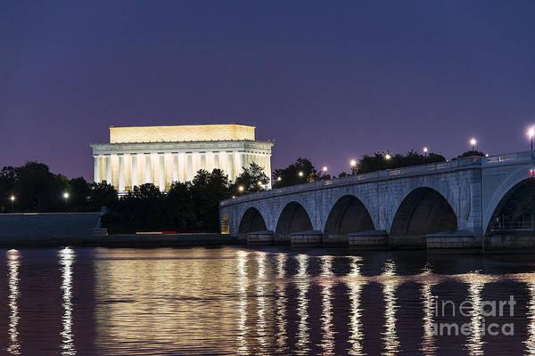 Wall Art - Photograph - Lincoln Memorial  by John Greim