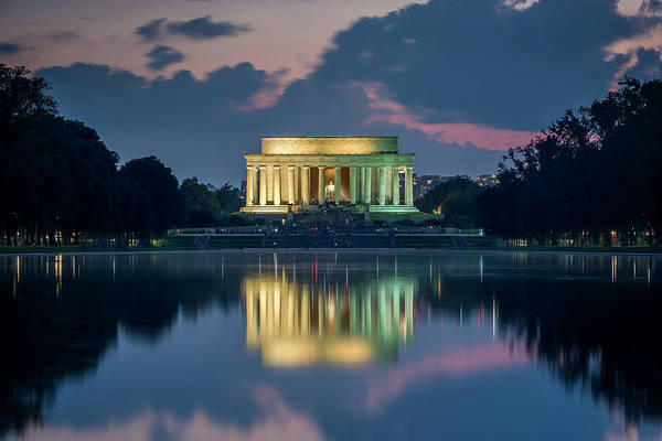 Photograph - Lincoln Memorial by Ryan Wyckoff