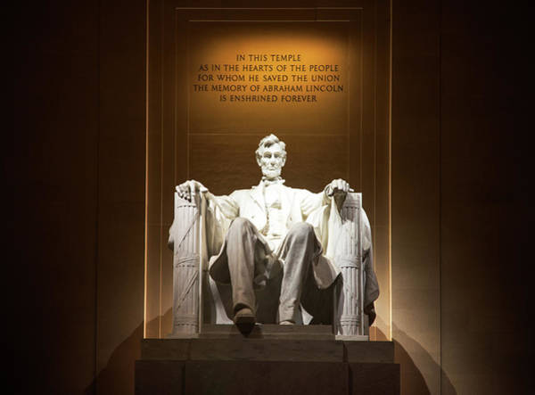 Photograph - Lincoln by Ryan Wyckoff