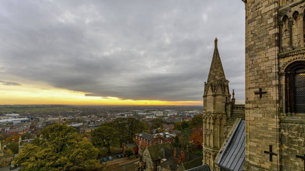 Photograph - Lincoln South View, England by Jacek Wojnarowski