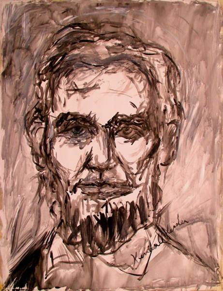 Painting - Lincoln Stage One by Kendall Kessler