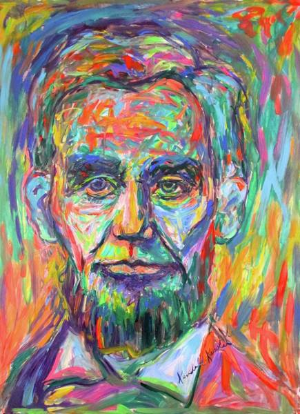 Painting - Lincoln  by Kendall Kessler