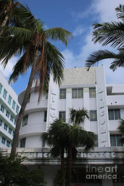 Photograph - Lincoln Theatre In Miami Beach by Carol Groenen