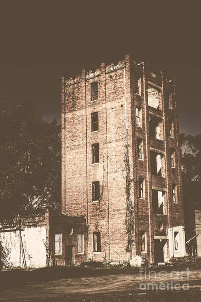 Demolition Wall Art - Photograph - Lincolns Oakbank Brewery by Jorgo Photography - Wall Art Gallery