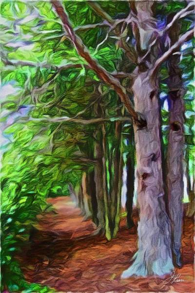 Painting - Lincoln's Path by Joan Reese