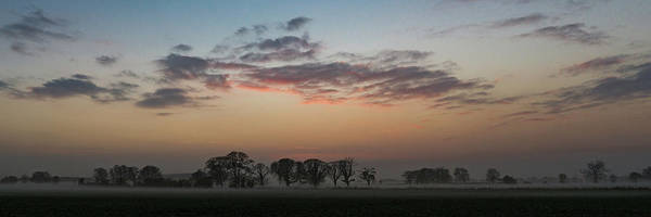 Photograph - Lincolnshire Sunset Panorama by Gary Eason