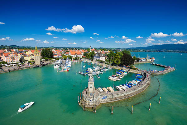 Photograph - Lindau Bodensee Lake Constance Germany by Matthias Hauser