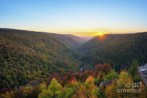 Photograph - Lindy Point Autumn Sunset by Michael Ver Sprill