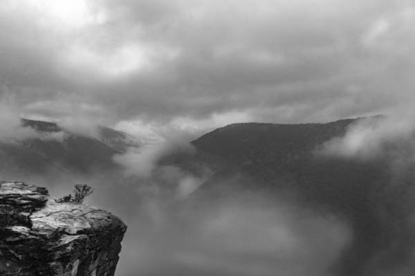 Photograph - Lindy Point In B/w by Jorge Perez - BlueBeardImagery