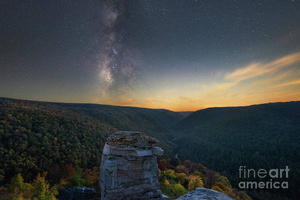 Wall Art - Photograph - Lindy Point Milky Way Galaxy by Michael Ver Sprill